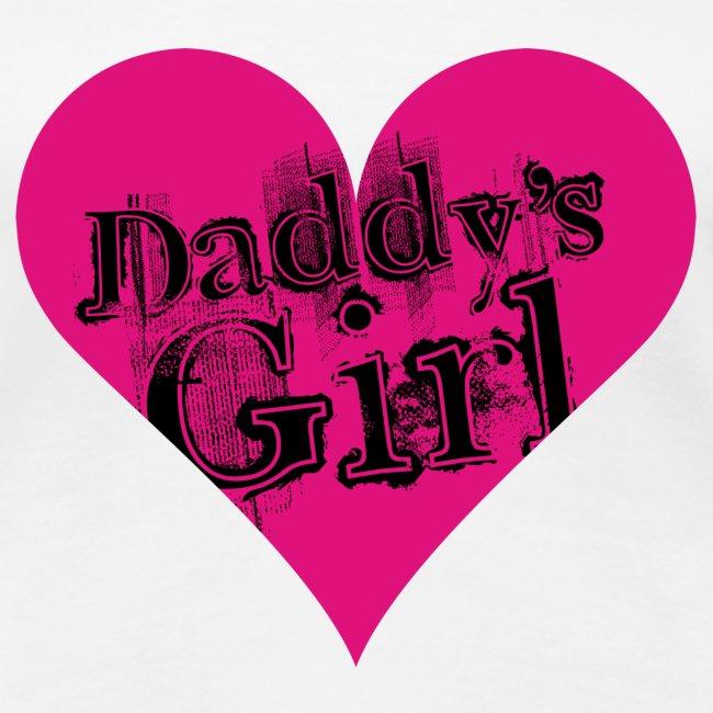 Valkoinen daddys_girl_bl T-paidat