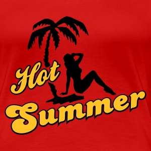 Hot Summer - Frauen Premium T-Shirt