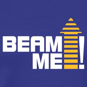 Royalblau Beam me up, Scotty! No. 01_2c T-Shirts - Männer Premium T-Shirt