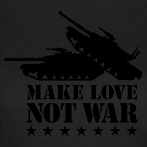 Olive Make love not war 1clr Women's Tees - Women's T-Shirt