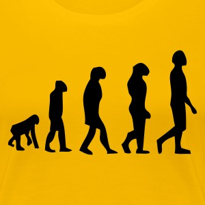 DE-Evolution - Frauen Premium T-Shirt