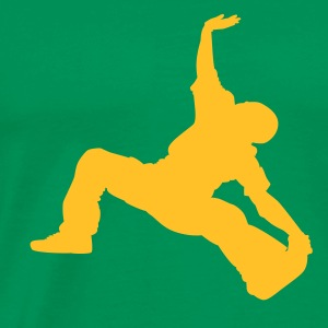 Breakdance 01gb - Men's Premium T-Shirt