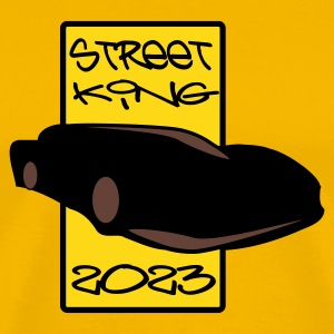 Yellow street king 2023 Men's Tees - Men's Premium T-Shirt
