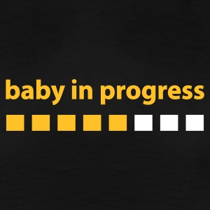 Baby in Progress - Women's Premium T-Shirt
