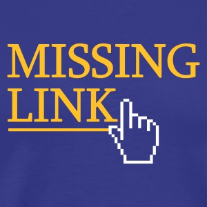 ... Missing Link  - Men's Premium T-Shirt