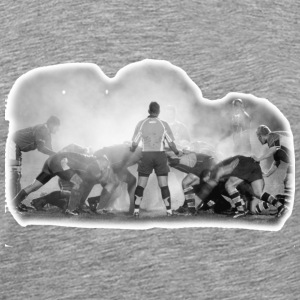 Scrum - phooto on back - Men's Premium T-Shirt