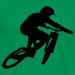 Mountain Bike Shirt Downhill - Männer Premium T-Shirt