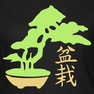 Bonsai + Kanji - Frauen T-Shirt