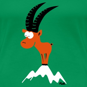 Grass green capricorn  (c) Women's Tees - Women's Premium T-Shirt