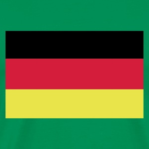 Khaki green German Flag Men's Tees - Men's Premium T-Shirt