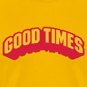 Yellow goodtimes Men's Tees - Men's Premium T-Shirt
