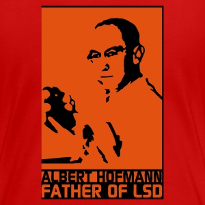 Rot Father of LSD T-Shirts - Frauen Premium T-Shirt