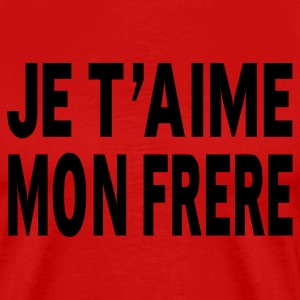 Rouge frere T-shirts - T-shirt Premium Homme