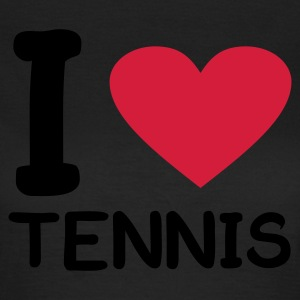 Oliven i love Tennis T-shirts - Dame-T-shirt