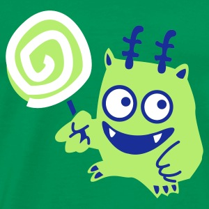 Lolli-Monster - Männer Premium T-Shirt