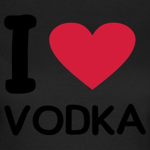 Oliven I love vodka T-skjorter - T-skjorte for kvinner