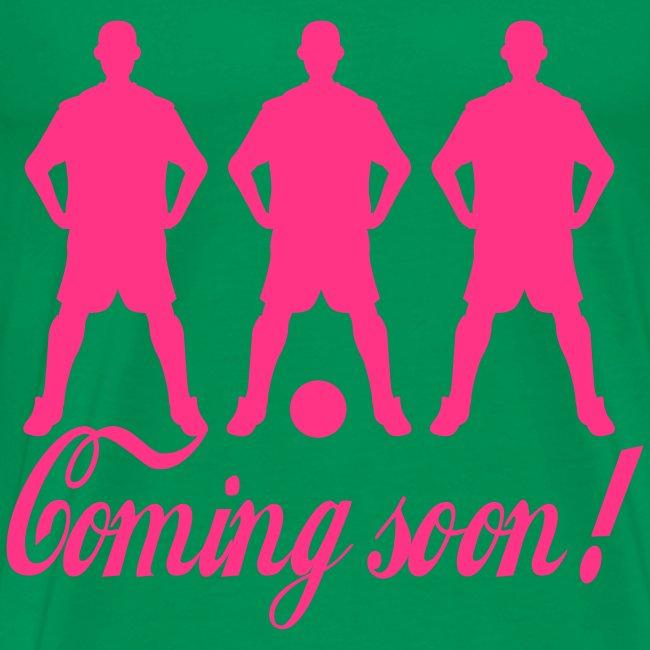 Comming soon! T-shrt Herre Basis