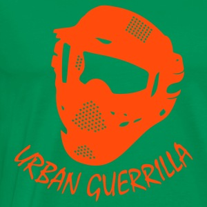 Paintball - urban guerrilla - Männer Premium T-Shirt