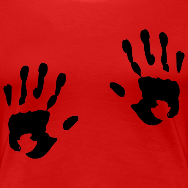 """""""Hands"""" Girlieskjorte for damer"""