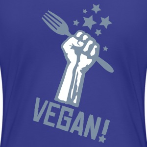 Womens 'VEGAN TOFU-MERGE V1' - Women's Premium T-Shirt
