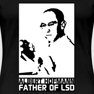 Schwarz Father of LSD T-Shirts - Frauen Premium T-Shirt