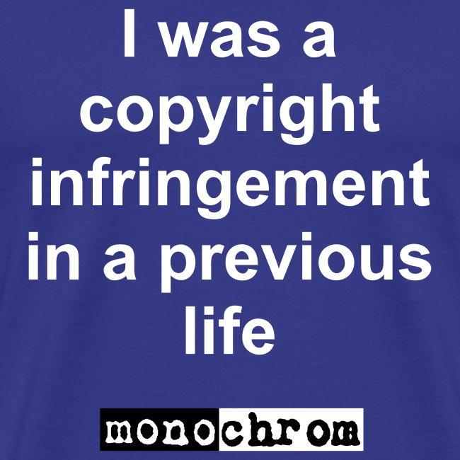 I was a copyright infringement