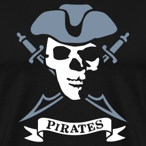 pirates_3 T-shirts - Mannen Premium T-shirt