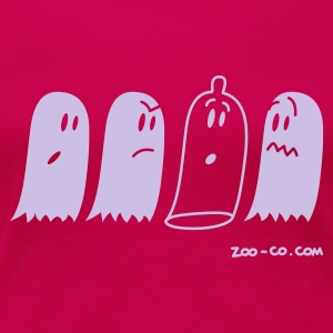Pink Latex Ghost Women's Tees - Women's Premium T-Shirt