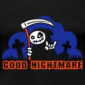 Schwarz good_nightmare_b_3c T-Shirts - Frauen Premium T-Shirt