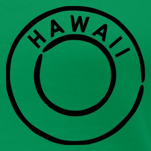 Grass green Hawaii Women's Tees - Women's Premium T-Shirt