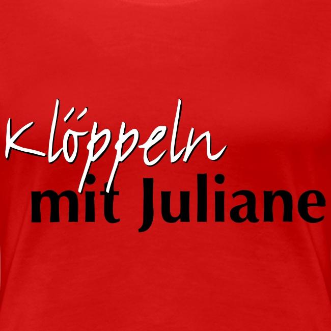 Klöppeln mit Juliane Logo