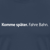 Motiv ~ Extragroßes Später-Shirt