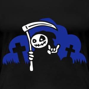 little_death_2c T-shirts - Vrouwen Premium T-shirt
