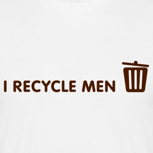 I Recycle Men 1 (1c, NEU) - Men's T-Shirt