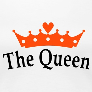 The Queen T-shirts - Vrouwen Premium T-shirt