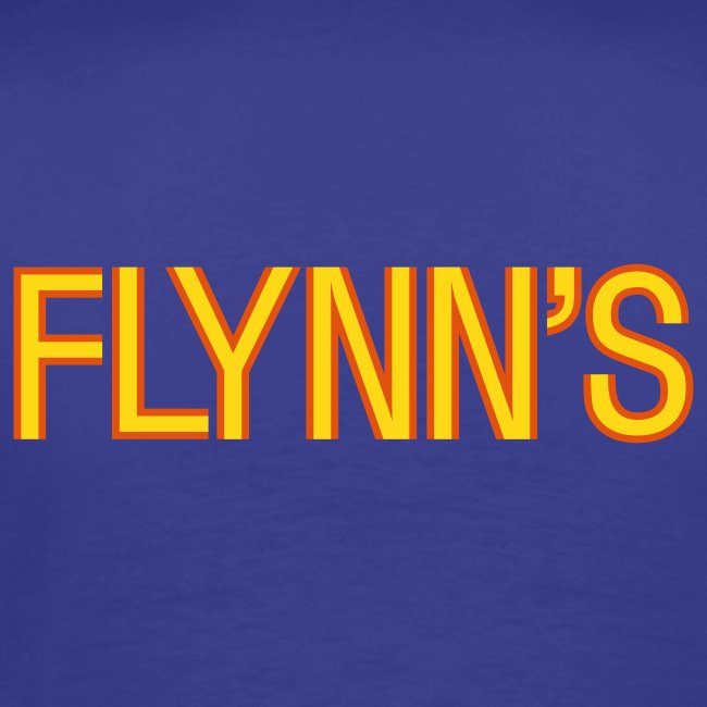 Flynn's (back- and frontprint)