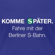 Motiv ~ Berliner S-Bahn-Shirt (Women)