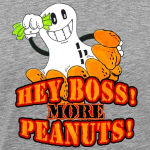 Cendre Hey boss! More peanuts! (DDP) T-shirts - T-shirt Premium Homme