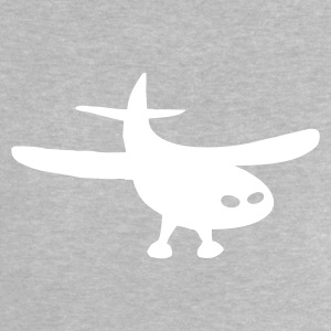 Heather grey Aircraft Babytröjor - Baby T-shirt