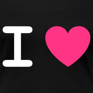 I love (2c, NEU) - Women's Premium T-Shirt