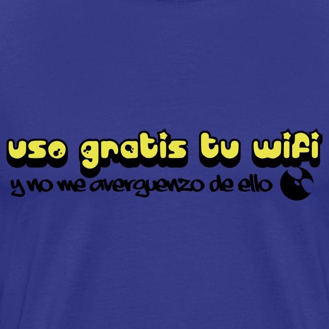 Uso gratis tu wifi y no me averguenzo de ello