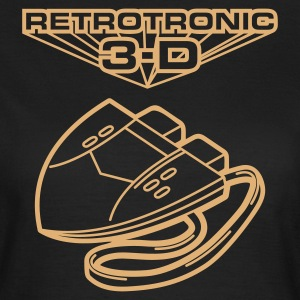 Olive Retrotronic 3D T-Shirts - Frauen T-Shirt