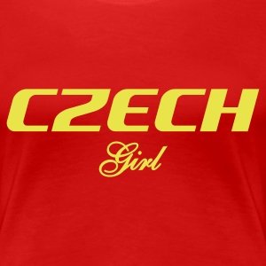 Czech Girl goes Peking - Frauen Premium T-Shirt