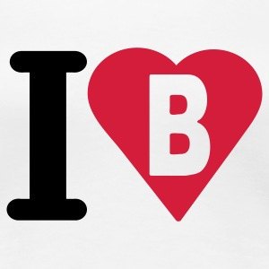 i_love_b - Women's Premium T-Shirt