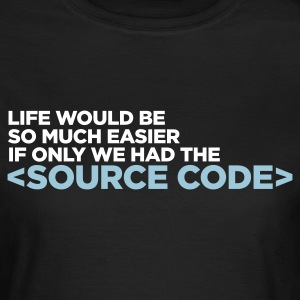 Life Source Code 1 (ENG, 2c) - Frauen T-Shirt