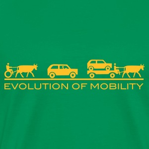 Evolution of Mobility GB - Premium-T-shirt herr