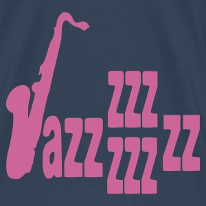 Dark navy Jazz T-shirts - Mannen Premium T-shirt