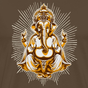 Brown shiva Men's Tees - Men's Premium T-Shirt