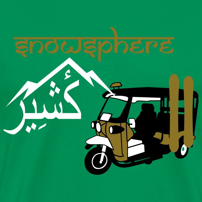 Snowboard Kashmir Ricksaw