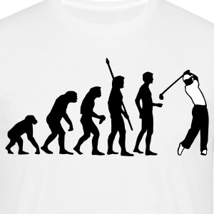 Sand evolution_golf_b_2c T-Shirts - Männer T-Shirt